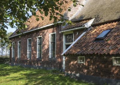 BUITENLEVEN VAKANTIES | DRENTS LANDSCHAP| huis van Hansouwe Peize