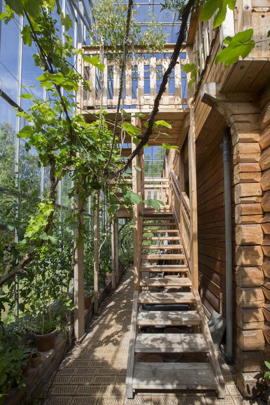 Eco-relief Huis in Kas - Anders & Rosemary Solvarm  - Zweden